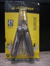 Leatherman Surge Multi-Tool Stainless Steel with Nylon Sheath 21 Tools 830160