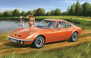 2016 80-7680 revell of germany 1/32 BUICK OPEL GT Model Kit new in the box