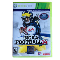 NCAA Football 14 (Xbox 360, 2013) Complete w/ Manual ULTRA RARE - Tested/Works