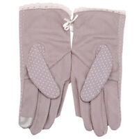 Fashion Ladies Lace Gloves Summer Sunscreen UV-Proof Driving Short Mittens Jian