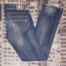 """G-STAR RAW """"SAVILLE STRAIGHT WMN"""" Damen Jeans W30 L33, Authentisch"""