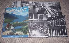 1966 Canada Canadian History 43 Plates Visual Teaching Hockey Eskimos Indians