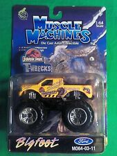 Muscle Machines Jurassic Park T-Wrecks Bigfoot Ford Die Cast Collectible 1:64