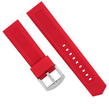 20MM SILICONE RUBBER WATCH BAND STRAP FOR TAG HEUER F1 FORMULA AQUARACER RED