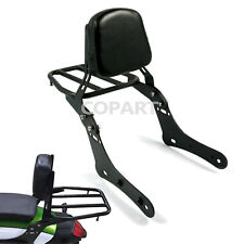 Sissy Bar Luggage Rack Backrest Pad For Kawasaki Vulcan S 650 VN650 2015 16 2017