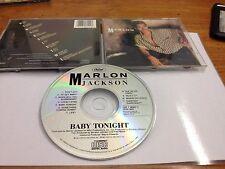 CD Marlon Jackson Baby Tonight 1987 Capitol Records Made In USA