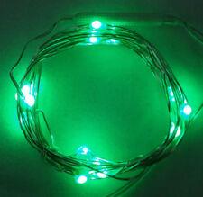 Tiras de luces de interior interior de plástico de color principal verde