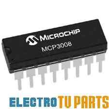 Microchip MCP3008-I/P 10Bit ADC 16DIP 8CH SPI - Arduino Pi ARM PIC AVR UK SELLER