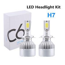2x Car LED H7 Headlight Kit Bulbs 6000K 7200LM Xenon White C6 Lamp Bulb Light