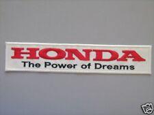 PATCH HONDA THE POWER OF DREAMS PATCH RICAMATA TERMOADESIVA CM 20x4