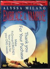 EMBRACE OF THE VAMPIRE-ALYSSA MILANO is seduced by obsessive vampire lover-DVD