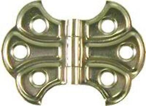 Small Butterfly Hinge - Nickel Plated Steel     N1782