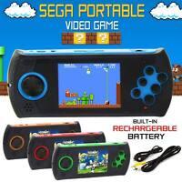 Retro Mega Drive Handheld Sega Premium Portable Video Games Game Console PXP UK