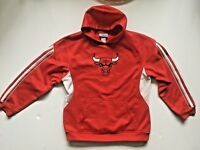 Youth Chicago Bulls Pullover Hooded Sweatshirt NBA Official Satin Hoodie