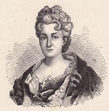 Anne-Thérèse de Marguenat de Courcelles Marquise de Lambert Salon Littéraire