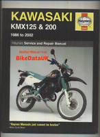 Kawasaki KMX125 & 200 (86-02) Haynes Shop Manual Repair Book KMX 125 200 BN24