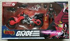 G.I. Joe Classified Baroness C.O.I.L. Bike Cobra Island Target Exclusive MISB