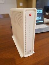 White Motorola Cable Modem Wifi Router SBG6782-AC