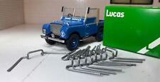 Land Rover Série 1 80 1948-50 Véritable Lucas Phare Lentilles Clips X 10