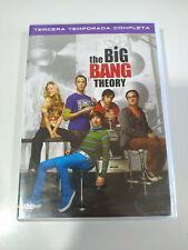 The Big Bang Theory Troisième Saison 3 Complète - 3 X DVD Espagnol Anglais
