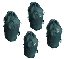 Asics Gear Bag Backpack Sport Training ZR307 Black with SPORT Embroidery
