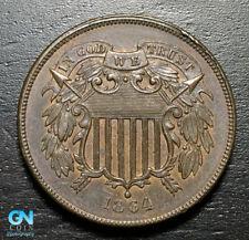 1864 2 Cent Piece  --  MAKE US AN OFFER!  #B8694
