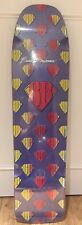 "Alva Power Station Brad Bowman 36""x9.25"" Deck purple/red/yellow"