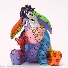 Romero Britto Official Disney Large Eeyore 18cm Figurine By Disney Britto