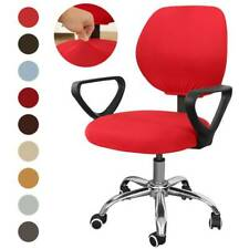 Stretch Home Office Chair Cover Universal Rotating Seat Slipcover Protector #