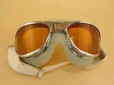 WW2 Pilot AN6530 Goggles Aircraft B-17 B-25 Bomber (W/ Amber lenses)