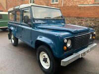 Land Rover Defender 110 county station wagon factory V8 only 33,000 miles new