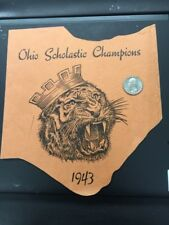 1943 Massillon Tigers Ohio HS Football State Champions Program Elmer Layden