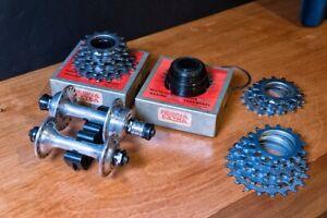 Vintage Campagnolo/Regina - Hubs/Freewheel - 36 hole/6 speed Excellent Condition
