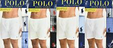 Ralph Lauren Polo 3-Pack Assorted Classic Fit Cotton Woven Boxers New