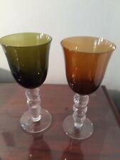 Wine glasses set  8.5 x 4