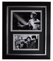 Charlie Watts Signed 10x8 Framed Photo Autograph Display Rolling Stones COA
