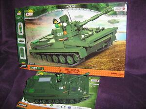 COBI 2235 PT-76 Nam Light Amphibious Tank fits Lego