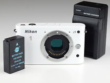 NIKON 1 J1 camera BODY only WHITE