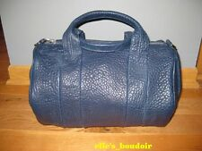 NWT Alexander Wang Ink Dark Blue Rocco Bag Studded Duffle Handbag $925