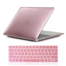 """2018 Rubberized Hard Shell Case for Macbook Pro 13 15"""" A1989/A1990 Keyboard Skin"""