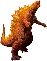 Burning Godzilla King of The Monsters S.H.Monsterarts Bandai Tmashii Sideshow