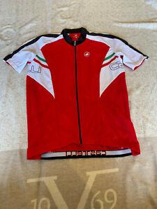 CASTELLI Cycling Jersey BRAND NEW ORIGINAL SHORT SLEEVES SIZE 3XL Unisex