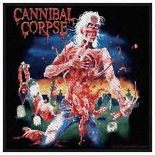 Cannibal Corpse-eaten Back to Life PATCH RICAMATE brutalmente death metal heavy nuovo