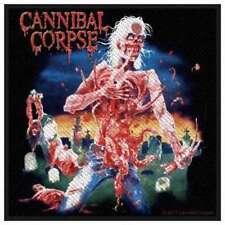 Cannibal Corpse - Eaten back to life Patch Aufnäher Brutal Death Metal Heavy Neu