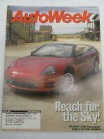 AUTO WEEK MAGAZINE APRIL 3, 2000 MITSUBISHI ECLIPSE SPYDER DODGE NEON CAR