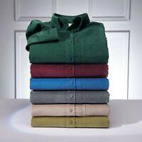 Samuel Windsor Mens Corduroy Shirts Smart Casual Long Sleeve Sizes S-XXXL NEW