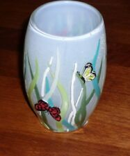 Frolic Kalisa TUMBLER CUP bath butterflies meadow 3-D NEW