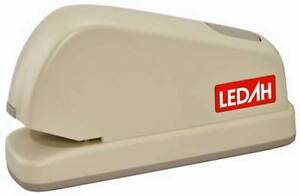 Electric Office Stapler 20 sheet  26/6 staples AC 240 volt - Ledah 1171