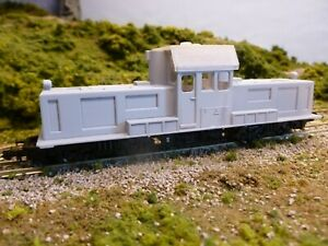 HOn30 [009] 3d PRINTED BODYSHELL KIT . GREEK RAILWAYS MITSUBISHI B0-B0