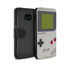 PU Leather Case for Samsung Galaxy S7 Edge/G935/Games Console/Nintendo Game Boy